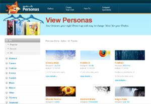 Firefox Personas
