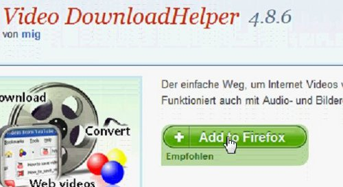 Youtube Downloader: Add to Firefox