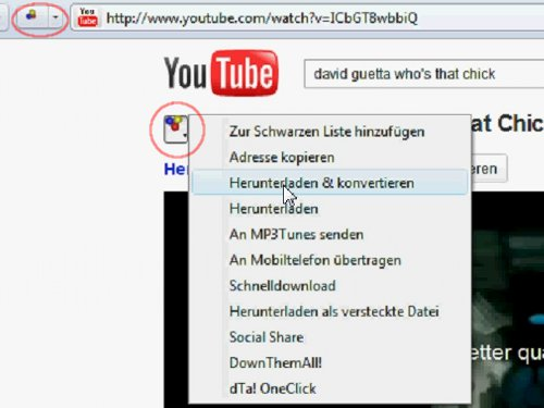 Youtube Downloader: In Aktion