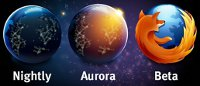 Firefox: Nightly-, Aurora- and Beta-Channel