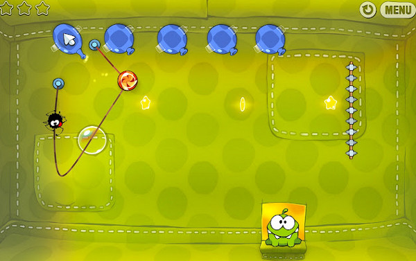 Screenshot von Cut the Rope