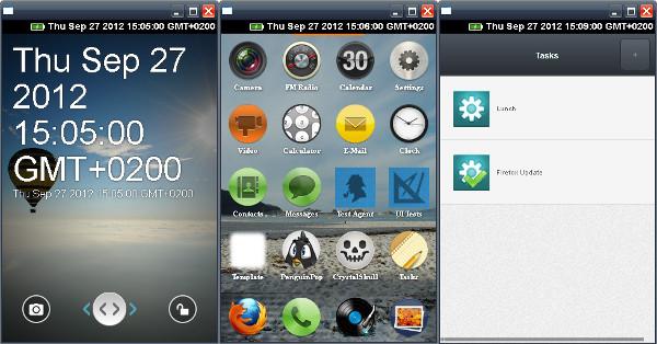 Screenshots vom Firefox OS