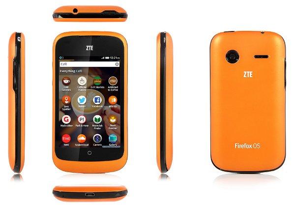 Firefox Smartphone von ZTE