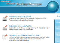 Advanced Backup Manager