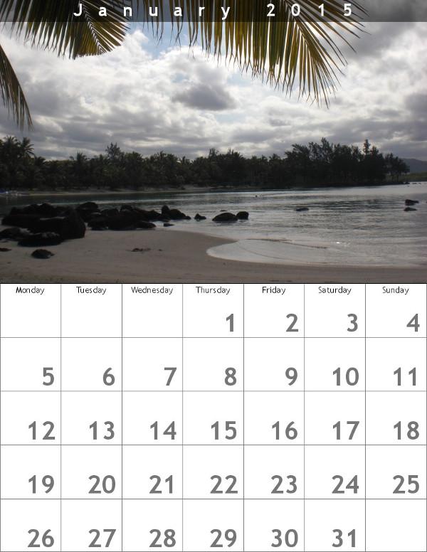 BigHugeLabs Kalender 2015