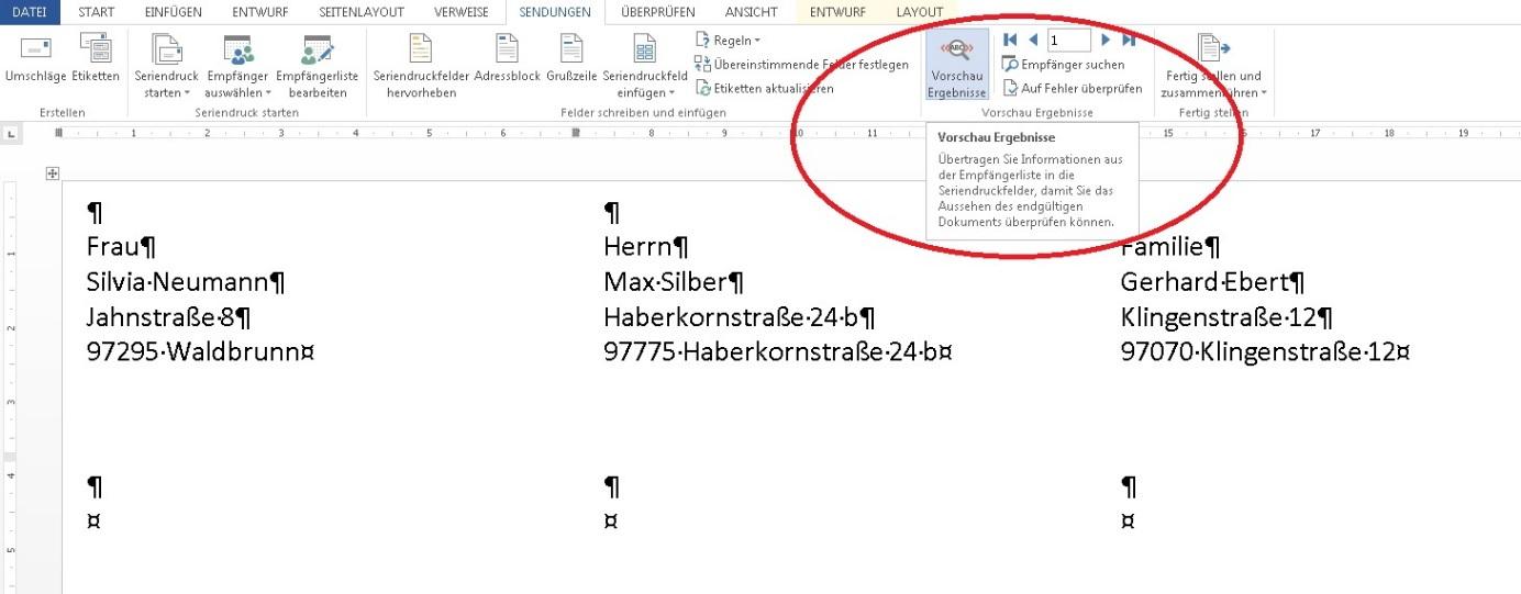 Etiketten erstellen und drucken mit Microsoft Word und Excel | Foxload