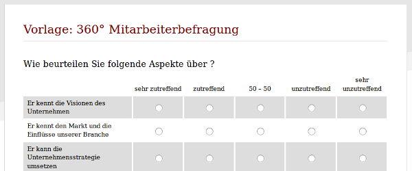 Online-Umfrage: easyfeedback