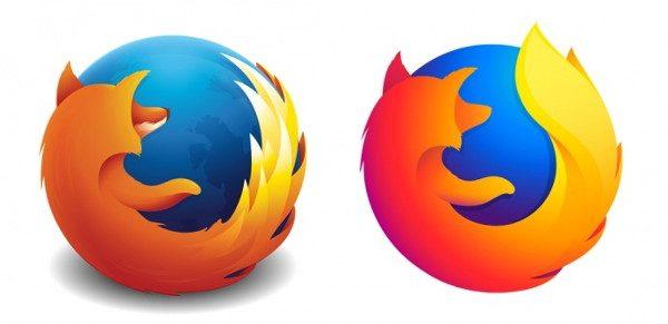 Firefox Quantum: Nouveau logo