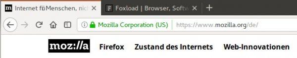 Firefox Quantum: New tab design